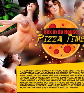 Sex in da house: Pizza Time